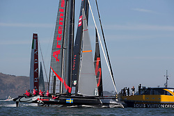 Official Practice day, Tuesday October 2nd. AC45 World Series San Francisco (Oct. 2-7).