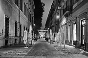 Torino 6 novembre 2020 primo giorno del secondo Lockdown