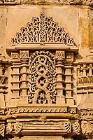 Inde, Etat de Gujarat, Ahmedabad, classé Patrimoine Mondial de l'UNESCO, la mosquée Jama Masjid édifiée par Ahmad Shah en 1423 // India, Gujarat, Ahmedabad, Unesco World Heritage city, Jama Masjid mosque build by Ahmad Shah in 1423