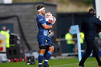 Rugby Union - 2021 / 2022 Gallagher Premiership - Round Three - Sale Sharks vs Exeter Chiefs - A J Bell Stadium - Sunday 3rd October 2021<br /> <br /> <br /> Jono Ross of Sale Sharks<br /> <br /> Credit COLORSPORT/Lynne Cameron