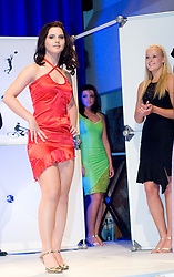 Janina Nedog at event Miss Sports of Slovenia, on April 18, 2009, in Festivalna dvorana, Ljubljana, Slovenia. (Photo by Ales Oblak / Sportida)