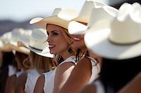 Grid girls.<br /> United States Grand Prix, Sunday 2nd November 2014. Circuit of the Americas, Austin, Texas, USA.