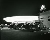 1942 Brown Derby Drive In on Los Feliz Blvd.
