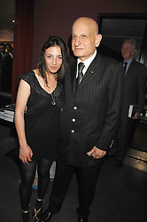 NAIM ATTALLAH and his god daughter PHOEBE FORD at a party to celebrate the publication of Nain Attallah's book'Fulfilment & Betrayal' held at The Bluebird, King's Road, London on 1st May 2007.<br /><br />NON EXCLUSIVE - WORLD RIGHTS