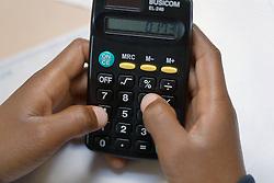 Using calculator,