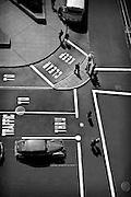 San Francisco, Union Square, Post Street, 1947