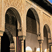 Detail of La Alhambra..Grenada, Spain.