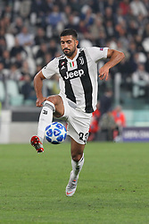 October 2, 2018 - Turin, Piedmont, Italy - Emre Can (Juventus FC) during the Juventus FC UEFA Champions League match between Juventus FC and Berner Sport Club Young Boys at Allianz Stadium on October 02, 2018 in Turin, Italy..Juventus won 3-0 over Young Boys. (Credit Image: © Massimiliano Ferraro/NurPhoto/ZUMA Press)