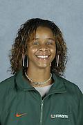 2004 Miami Hurricanes Track & Field Head Shots