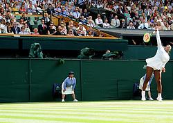 July 14, 2018 - Angleterre - Wimbledon - Meghane Markel Duchesse de Sussex Angleterre regarde son amie Serena Williams Usa  jouer la finale dames (Credit Image: © Panoramic via ZUMA Press)