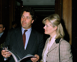 COUNT & COUNTESS GOESS SAURAU at an auction in London on 21st May 1997.LYN 10