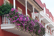 cal colonial architecture. To discover walking the streets of the historic center of Cartagena de Indias