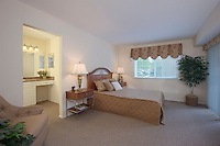 McDonogh Township Apartments interior image of Bedroom at model unit by Jeffrey Sauers of Commercial Photographics