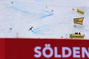 SOELDEN, AUSTRIA. OCTOBER 17 2020:  1st Women's Giant Slalom as part of the Alpine Ski World Cup in Solden on October 17, 2020; Run 2, Federica Brignone (ITA) in action ( Pierre Teyssot/ESPA Images-Image of Sport)