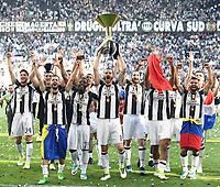 Juventus<br /> Esultanza Juventus Campione d'Italia . Celebration Juventus Italian championship winner <br />  Torino 21-05-2017 Juventus Stadium Football Calcio Serie A 2016/2017 Juventus - Crotone .<br /> Foto Image Sport / Insidefoto