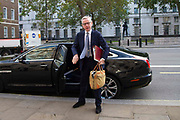 Michael Gove MP, Chancellor of the Duchy of Lancaster arrives at the Cabinet office in Whitehall, London, United Kingdom on 27th September 2019.