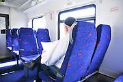 Israel, Interior of a train coach