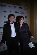 Simon Boswell and Lysette Anthony, The Asian Business Awards 2005. Hilton. London. 7 April 2005. ONE TIME USE ONLY - DO NOT ARCHIVE  © Copyright Photograph by Dafydd Jones 66 Stockwell Park Rd. London SW9 0DA Tel 020 7733 0108 www.dafjones.com