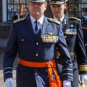 NLD/Den Haag/20180831 - Koninklijke Willems orde voor vlieger Roy de Ruiter, opkomst van Koning Willem - Alexnader