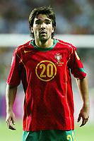 Lisbon 16/6/2004 Euro2004 <br />RUSSIA PORTUGAL 0-2<br />Deco of Portugal<br />Photo Graffiti