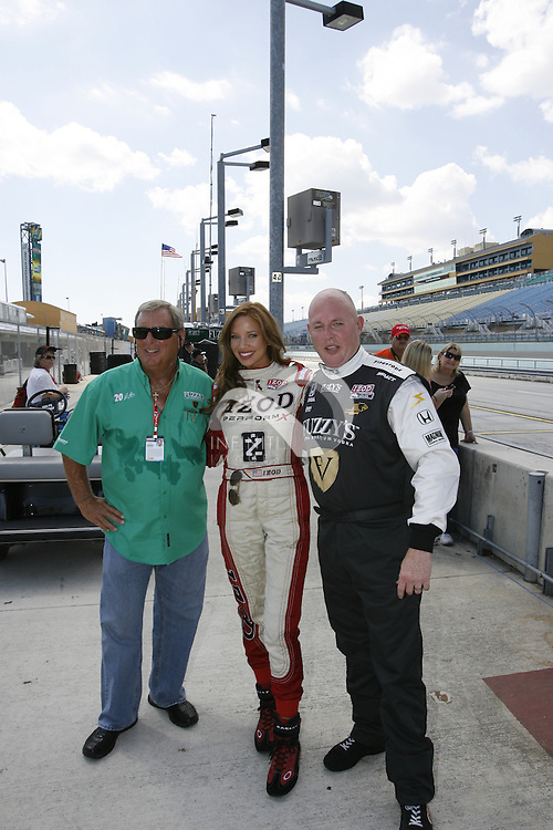 Ed Carpenter and Fuzzy's Vodka at Homestead Miami Speedway in Homestead, FL.<br /> <br /> Corporate event photography by Infiniti Images