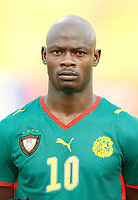 Photo: Steve Bond/Richard Lane Photography.<br />Cameroun v Zambia. Africa Cup of Nations. 26/01/2008. Achille Emana of Cameroon & Toulouse