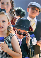 Flemington Races, girls and boys junior fashion  Pic. Pic By Craig Sillitoe 07/11/2009 SPECIAL 000 This photograph can be used for non commercial uses with attribution. Credit: Craig Sillitoe Photography / http://www.csillitoe.com<br /> <br /> It is protected under the Creative Commons Attribution-NonCommercial-ShareAlike 4.0 International License. To view a copy of this license, visit http://creativecommons.org/licenses/by-nc-sa/4.0/.