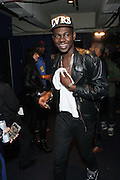 New York, NY- December 5: Theophilus London backstage at the Science of Addiction Tour 2011 AD featuring Erykah Badu and the Cannibinoids with Theophilus London held at the Best Buy Theater on December 5, 2011 in New York City. Photo credit: Terrence Jennings