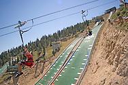 Ultra zipline Ziprider at Utah Olympic Park