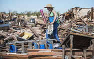 Kates Susan revors things from her freinds house. She lives near by and has experienced tornados herself.