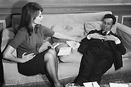 A good rapport was established between Sophia Loren and Jean Louis Barrault.<br /> <br /> Un bon rapport a été établi entre Sophia Loren et Jean Louis Barrault