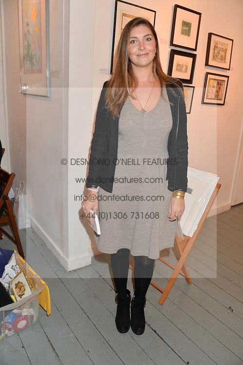 PRINCESS AUGUSTA VON PREUSSEN at an exhibition of works by Beatrice von Preussen held at The Gallery on The Corner, 155 Battersea Park Road, London SW8 on 11th December 2013.