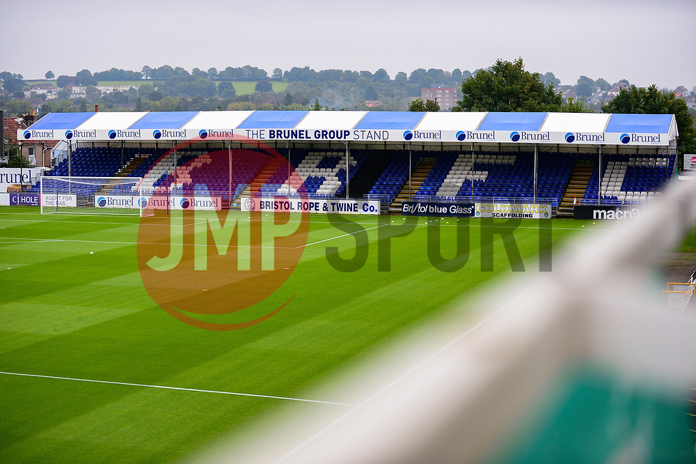 A general view of the Memorial stadium - Mandatory by-line: Dougie Allward/JMP - 15/08/2020 - FOOTBALL - Memorial Stadium - Bristol, England - Bristol Rovers v Exeter City - Pre-season friendly