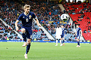 Scotland midfielder Stuart Armstrong (8) (Southampton) during the Friendly international match between Scotland and Portugal at Hampden Park, Glasgow, United Kingdom on 14 October 2018.