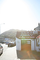 Seaside fast food take away at Bray Promenade County Wicklow Ireland