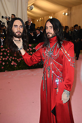 Jared Leto, accessory detail attends The 2019 Met Gala Celebrating Camp: Notes on Fashion at Metropolitan Museum of Art on May 06, 2019 in New York City.<br /> Photo by ABACAPRESS.COM