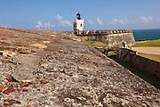 El Morro Fortress Old San Juan, Puerto Rico.