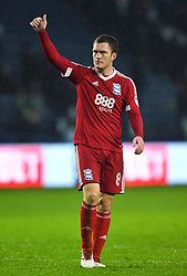 Birmingham City's Craig Gardner applauds the fans after the final whistle