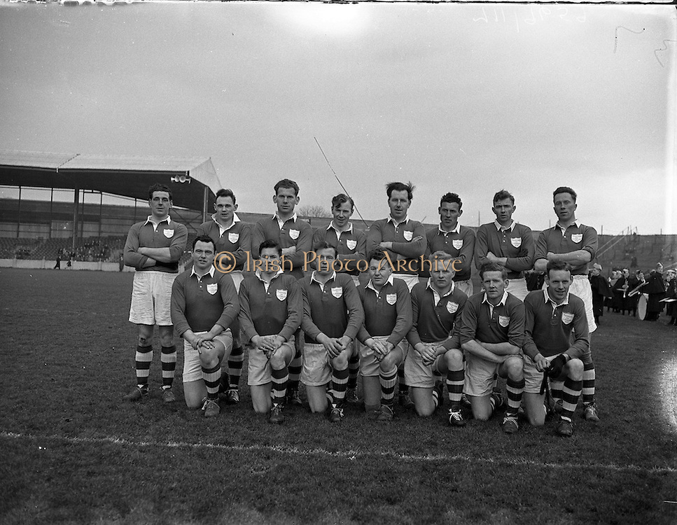 06/03/1955<br /> 03/06/1955<br /> 06 March 1955<br /> <br /> Combined Universities and The Rest v Ireland at Croke Park.  Ireland Team.