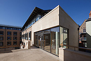 The Garden Building. Pembroke College, New Build on completion March 2013. Oxford, UK