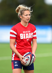 Elinor Snowsill of Bristol Bears Women warms up before the Tyrrells Premier 15's game between Bristol Bears Women and Wasps FC Ladies - Mandatory by-line: Paul Knight/JMP - 08/09/2018 - RUGBY - Shaftesbury Park - Bristol, England - Bristol Bears Women v Wasps FC Ladies - Tyrrells Premier 15s