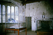 Castle Acre interior, Norfolk, England 1967