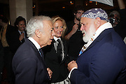 l to r: Ralph Lauren, Ricky Low-Beer and Bruce Weber at ' The Celebrating Fashion ' A Gala Benefit to support the Gordon Parks Foundation held at Gotham Hall on June 2, 2009 in New York City. ..The Gordon Parks Foundation-- created to preserve the work of groundbreaking African American Photographer and honor others who have dedicated their lives to the Arts--presents the Gordon Parks Award to four Artists who embody the principals Parks championed in his life.