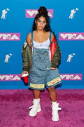 August 21, 2018 - New York City, New York, USA - 8/20/18.Jessie Reyez at the 2018 MTV Video Music Awards at Radio City Music Hall in New York City. (Credit Image: © Starmax/Newscom via ZUMA Press)