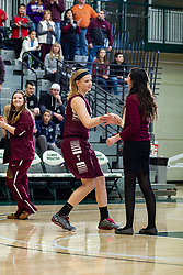 23 January 2016: IHSA Basketball game during the McLean County Tournament at Shirk Center in Bloomington Illinois - girls 1st place -  Tremont v Le Roy