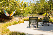 Butterfly Garden Sculpture and Seating Area at Oso Creek Trail