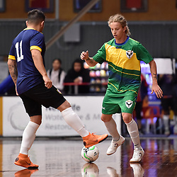 BRISBANE, AUSTRALIA - DECEMBER 12:  during the Brisbane Central Futsal Battle of the Champions at Hibiscus Stadium on December 12, 2020 in Brisbane, Australia. (Photo by Patrick Kearney)