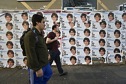 June 24, 2017 - Buenos Aires, Argentina - Election posters featuring the parliamentary candidate Martin Lousteau of the UCR (Radical Civic Union) party in Buenos Aires, Argentina. Argentine legislative election will be held on 22 October 2017. (Credit Image: © Anton Velikzhanin via ZUMA Wire)