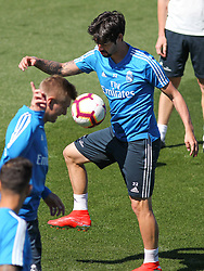 May 4, 2019 - Madrid, Madrid, Spain - Isco of Real Madrid in action during training day, May 04th, in Ciudad Deportiva Real Madrid, in Valdebebas, Madrid, Spain. (Credit Image: © AFP7 via ZUMA Wire)