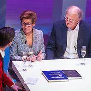 NLD/Amsterdam/20151123 - 5 jaar Delamar theater en 10 Jaar Van den Ende Foundation viering, Cornald Maas, Janine Klijburg en Joop van den Ende